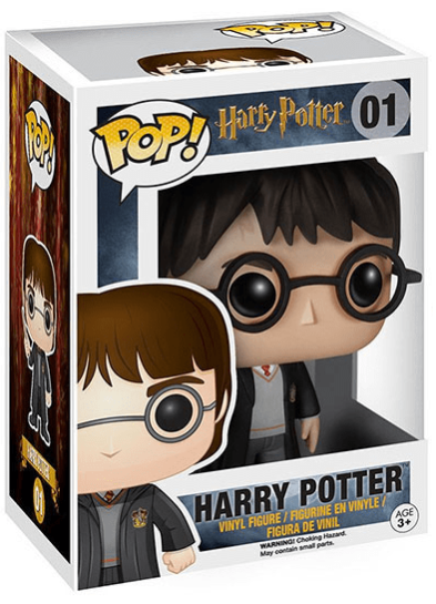 #01 Harry Potter | Harry Potter Funko Pop! Vinyl in box