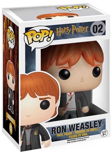 #02 Ron Weasley   Harry Potter Funko Pop! Vinyl in box