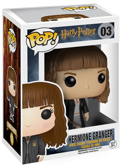 #03 Hermione Granger | Harry Potter Funko Pop! Vinyl in box