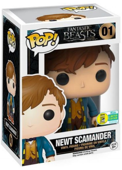 #01 Newt Scamander (Briefcase) | Fantastic Beasts Funko Pop! Vinyl in box