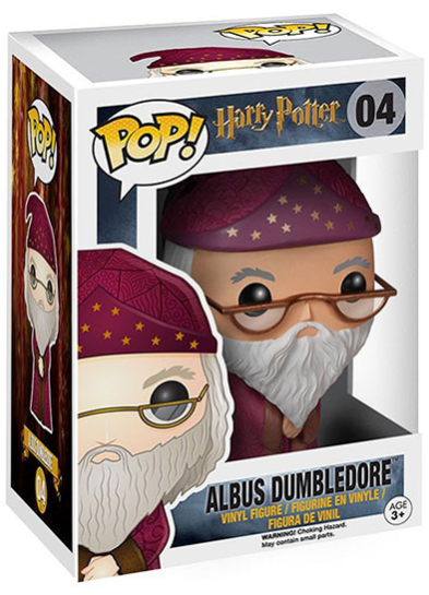 #04 Albus Dumbledore | Harry Potter Funko Pop! Vinyl in box