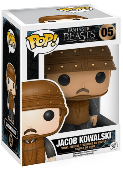 #05 Jacob Kowalski | Fantastic Beasts Funko Pop! Vinyl in box