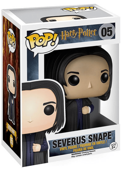 #05 Severus Snape | Harry Potter Funko Pop! Vinyl in box