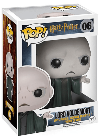 #06 Lord Voldemort | Harry Potter Funko Pop! Vinyl in box