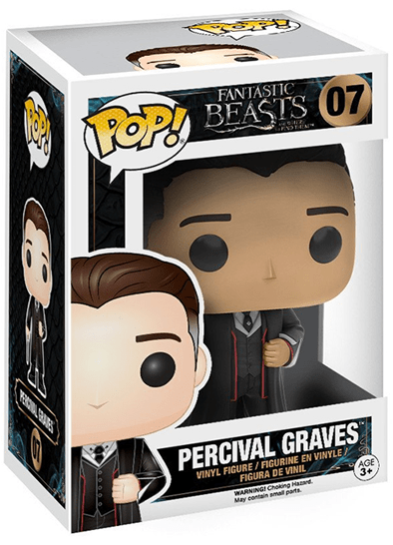 #07 Percival Graves | Fantastic Beasts Funko Pop! Vinyl in box