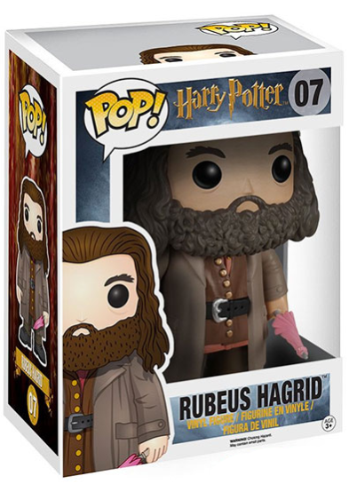 #07 Rubeus Hagrid (6″ Super Sized Pop) | Harry Potter Funko Pop! Vinyl in box
