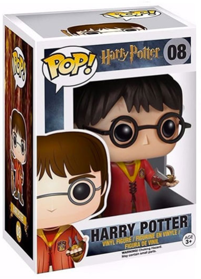 #08 Harry Potter (Quidditch) | Harry Potter Funko Pop! Vinyl in box