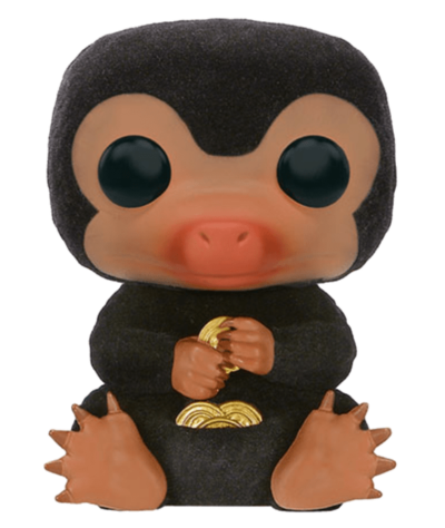 #08 Niffler (Flocked) | Fantastic Beasts Funko Pop! Vinyl
