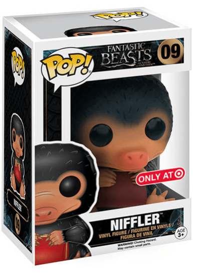 #09 Niffler (Coin Purse) | Fantastic Beasts Funko Pop! Vinyl in box