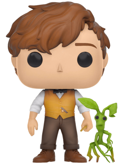 #10 Newt Scamander & Pickett | Fantastic Beasts Funko Pop! Vinyl