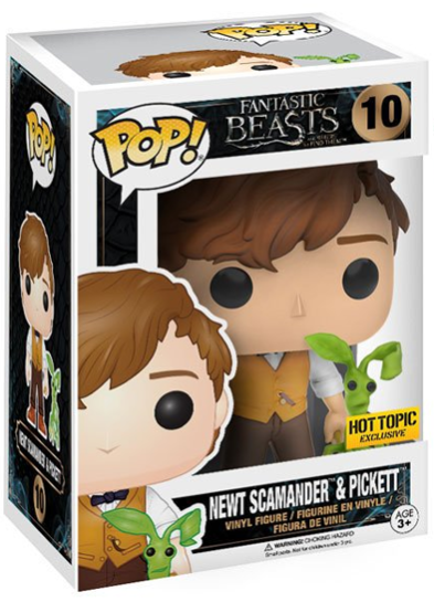 #10 Newt Scamander & Pickett | Fantastic Beasts Funko Pop! Vinyl in box