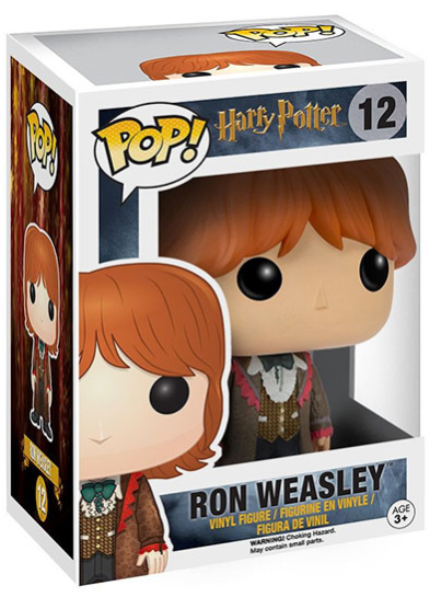 #12 Ron Weasley (Yule Ball) | Harry Potter Funko Pop! Vinyl in box