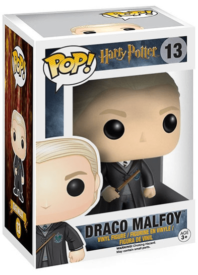 #13 Draco Malfoy | Harry Potter Funko Pop! Vinyl in box