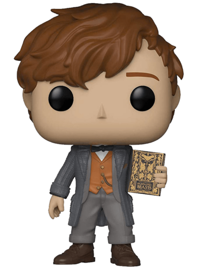 #14 Newt Scamander (Book) (Chase Edition) | Fantastic Beasts Funko Pop! Vinyl