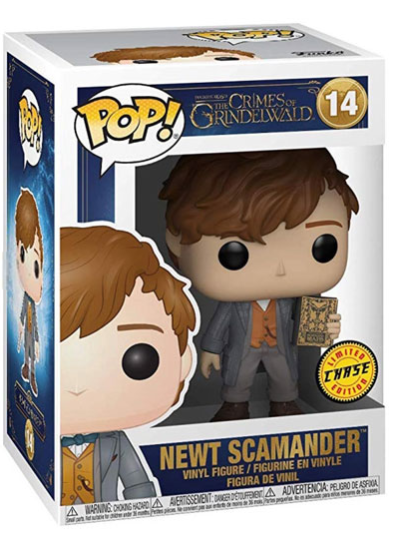 #14 Newt Scamander (Book) (Chase Edition) | Fantastic Beasts Funko Pop! Vinyl in box