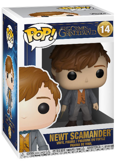 #14 Newt Scamander | Fantastic Beasts Funko Pop! Vinyl in box