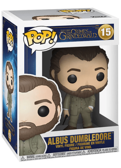 #15 Albus Dumbledore | Fantastic Beasts Funko Pop! Vinyl in box