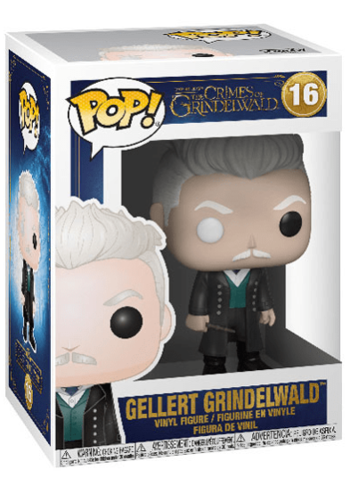 #16 Gellert Grindelwald | Fantastic Beasts Funko Pop! Vinyl in box