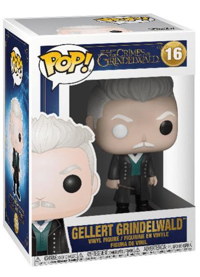 #16 Gellert Grindelwald | Fantastic Beasts Funko Pop! Vinyl in box