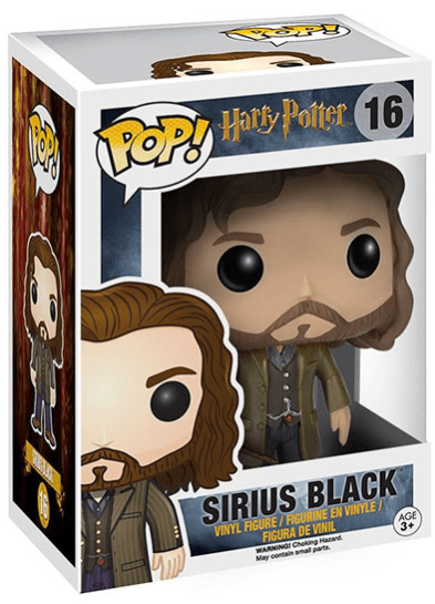 #16 Sirius Black | Harry Potter Funko Pop! Vinyl in box
