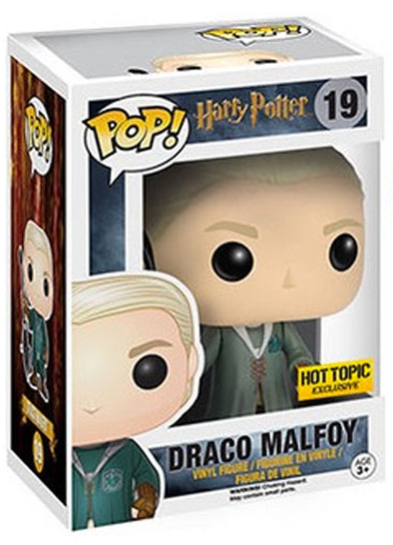 #19 Draco Malfoy (Quidditch) | Harry Potter Funko Pop! Vinyl in box
