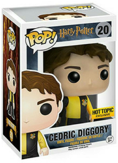 #20 Cedric Diggory | Harry Potter Funko Pop! Vinyl in box