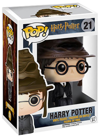 #21 Harry Potter (Sorting Hat) | Harry Potter Funko Pop! Vinyl in box