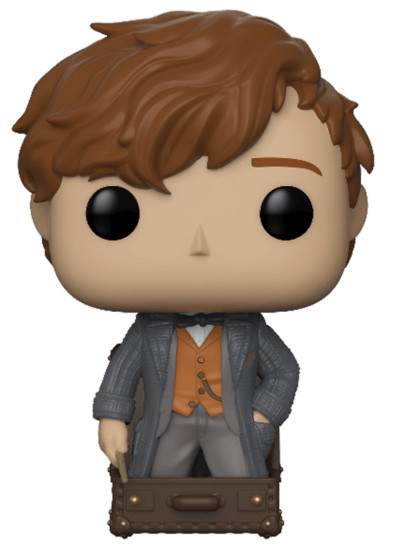 #23 Newt Scamander (In Briefcase) | Fantastic Beasts Funko Pop! Vinyl