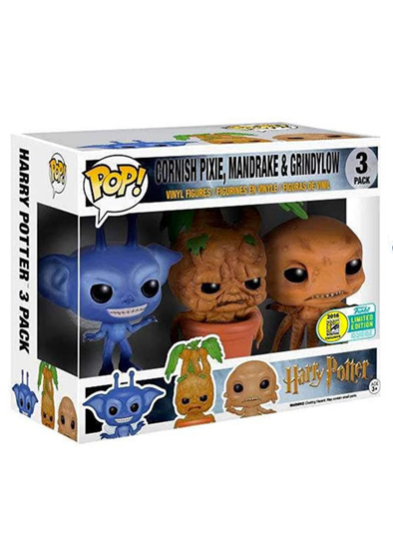 #24 Mandrake (3 Pack) | Harry Potter Funko Pop! Vinyl in box