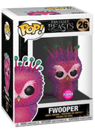 #26 Fwooper (Flocked) | Fantastic Beasts Funko Pop! Vinyl in box