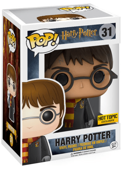 #31 Harry Potter (With Hedwig) | Harry Potter Funko Pop! Vinyl in box