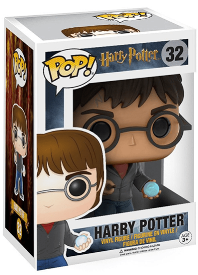 #32 Harry Potter (With Prophecy) | Harry Potter Funko Pop! Vinyl in box