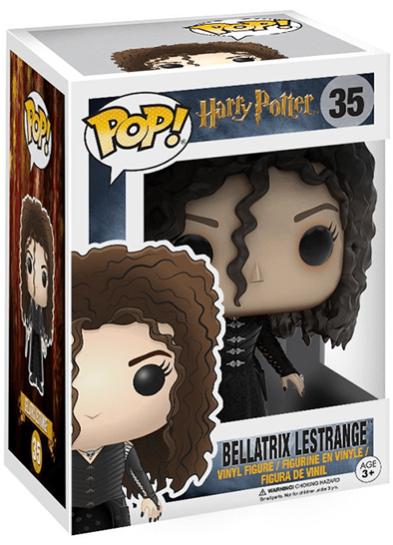 #35 Bellatrix Lestrange   Harry Potter Funko Pop! Vinyl in box