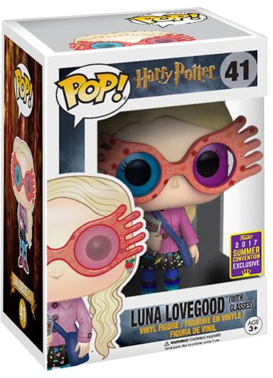 #41 Luna Lovegood (With Glasses) | Harry Potter Funko Pop! Vinyl in box