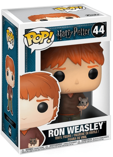 #44 Ron Weasley (With Scabbers) | Harry Potter Funko Pop! Vinyl in box