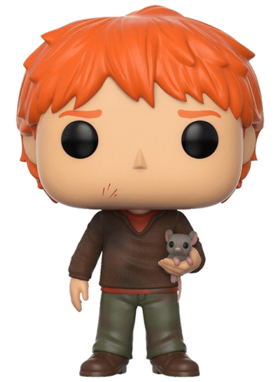 #44 Ron Weasley (With Scabbers) | Harry Potter Funko Pop! Vinyl