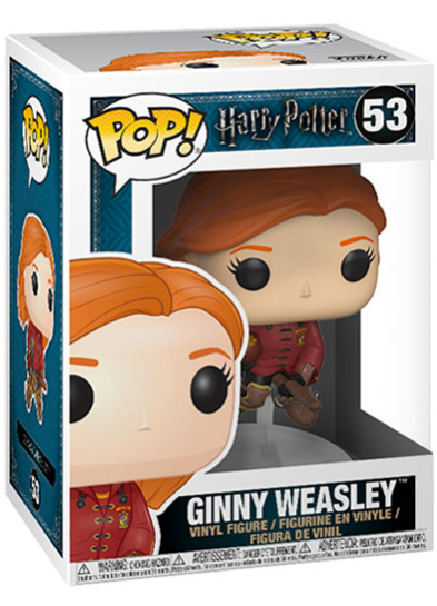 #53 Ginny Weasley (Quidditch Broom) | Harry Potter Funko Pop! Vinyl in box