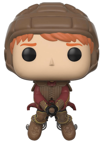 #54 Ron Weasley (Quidditch Broom) | Harry Potter Funko Pop! Vinyl