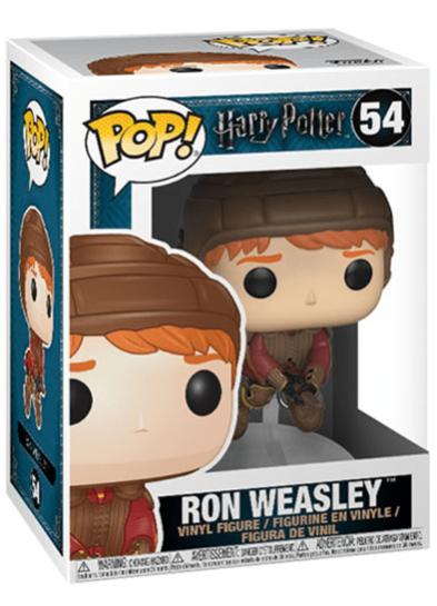 #54 Ron Weasley (Quidditch Broom) | Harry Potter Funko Pop! Vinyl in box
