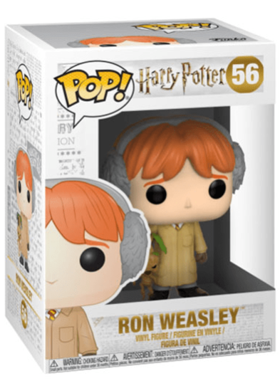 #56 Ron Weasley (Herbology) | Harry Potter Funko Pop! Vinyl in box