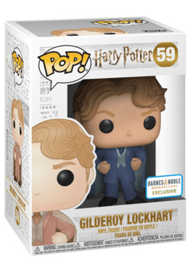 #59 Gilderoy Lockhart (Blue Suit) | Harry Potter Funko Pop! Vinyl in box