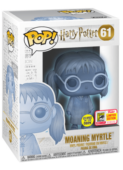 #61 Moaning Myrtle (Glow In The Dark) | Harry Potter Funko Pop! Vinyl in box