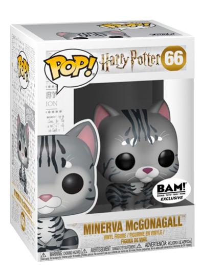 #66 Minerva McGonagall (As Cat) | Harry Potter Funko Pop! Vinyl in box
