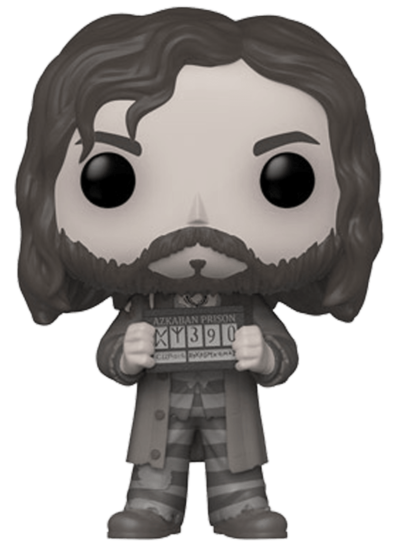 #67 Sirius Black (Azkaban) (Chase Edition) (Black & White) | Harry Potter Funko Pop! Vinyl