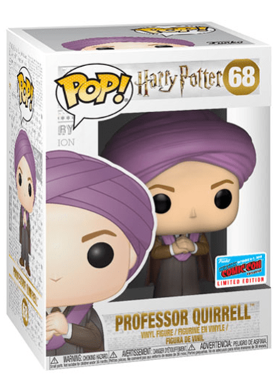 #68 Professor Quirrell | Harry Potter Funko Pop! Vinyl in box