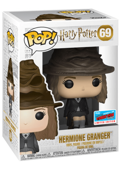 #69 Hermione Granger (Sorting Hat) | Harry Potter Funko Pop! Vinyl in box