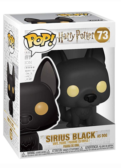 #73 Sirius Black (As Dog) | Harry Potter Funko Pop! Vinyl in box