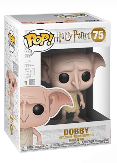 #75 Dobby (Snapping Fingers) | Harry Potter Funko Pop! Vinyl in box