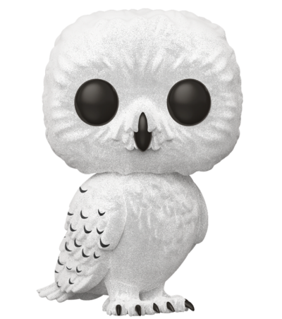 #76 Hedwig (Flocked) | Harry Potter Funko Pop! Vinyl