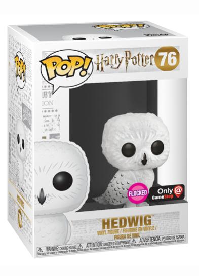 #76 Hedwig (Flocked) | Harry Potter Funko Pop! Vinyl in box